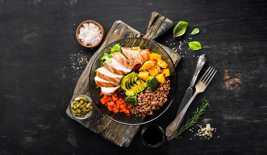 nutrición sana y equilibrada
