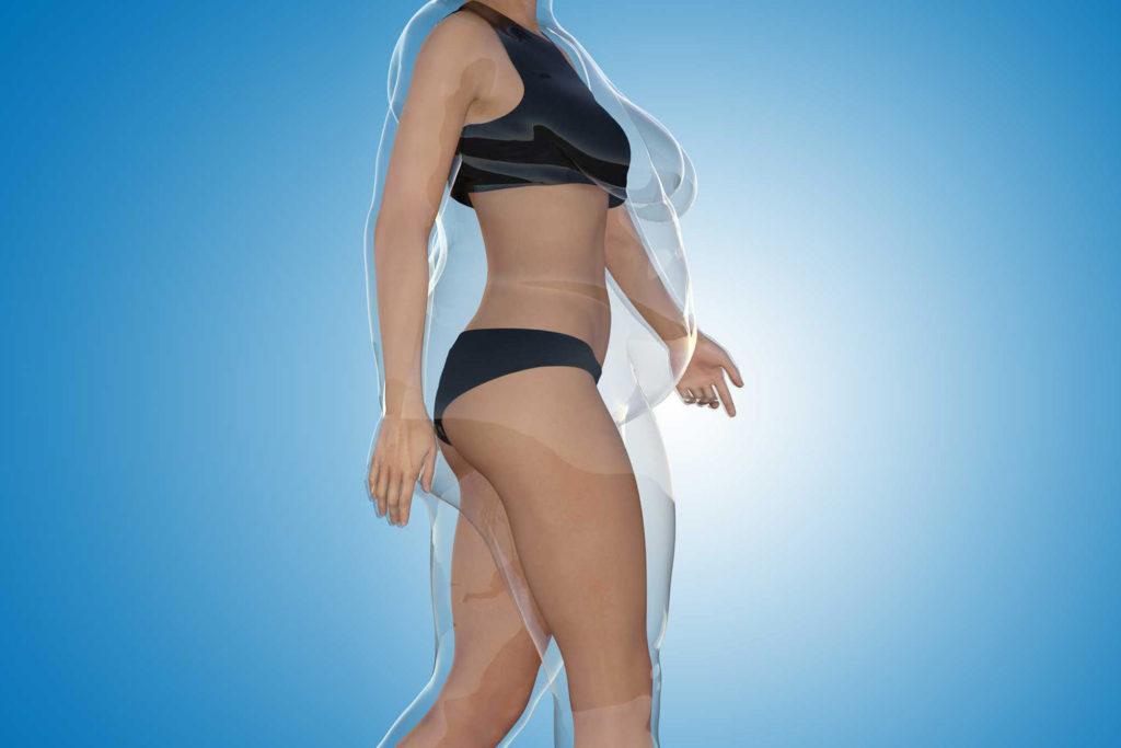 como reducir la cintura