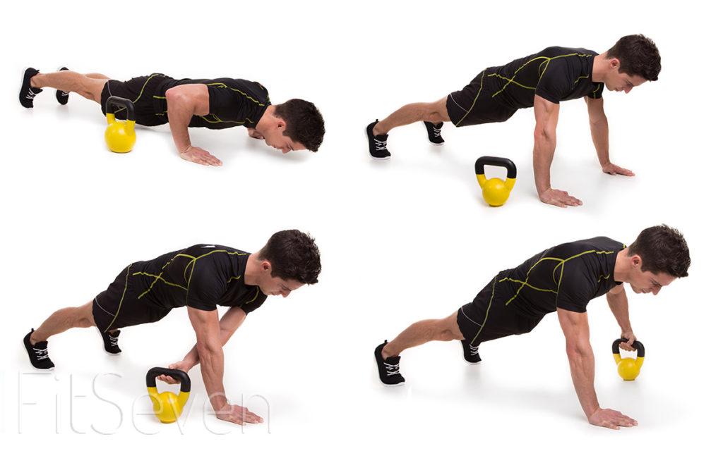 mejores ejercicios con pesas rusas