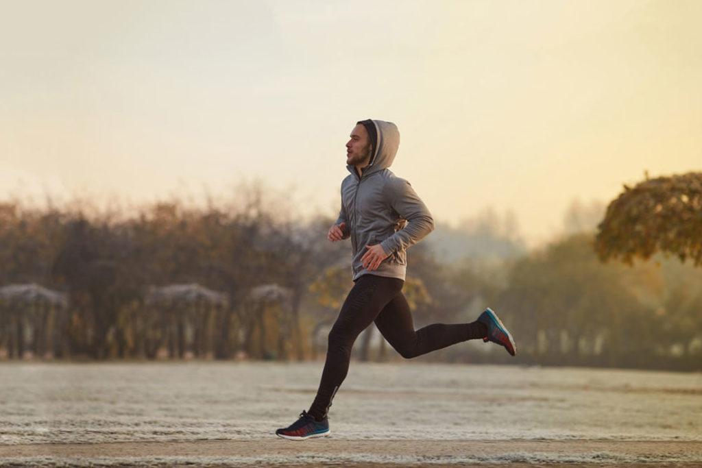 como correr afecta a los musculos
