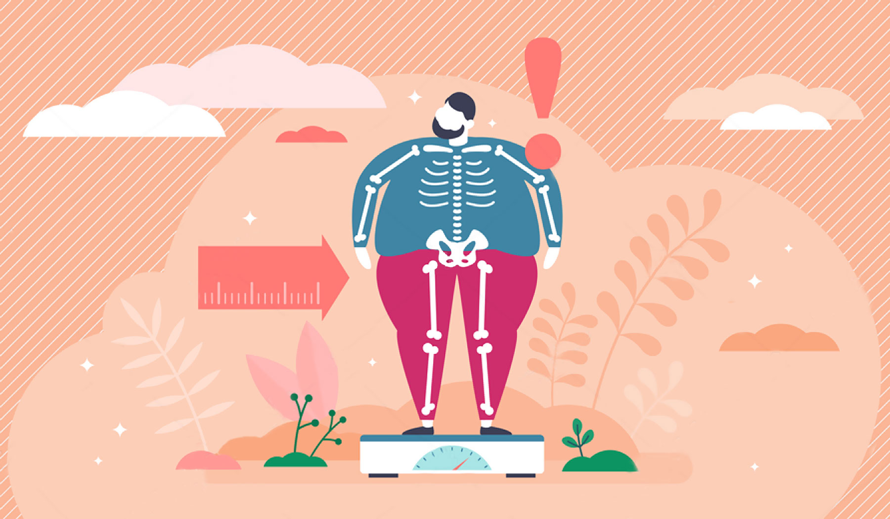 Exceso de peso – Consecuencias y daños ¿Cómo saber si