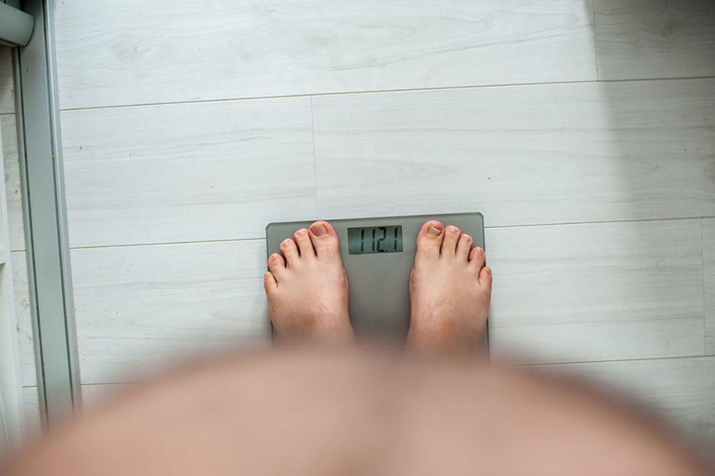 como quitar el exceso de peso