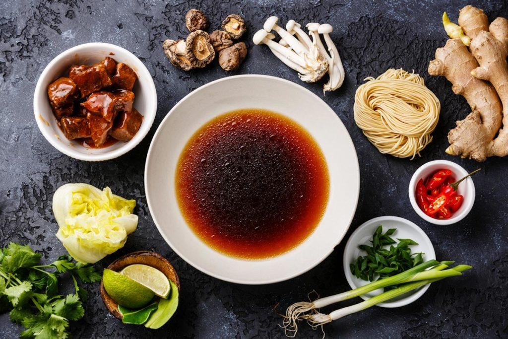 ramen ingredientes