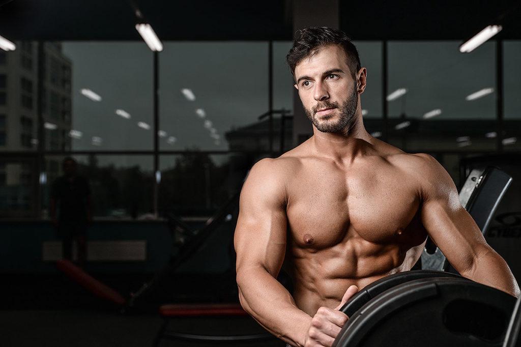 musculación hombros gym
