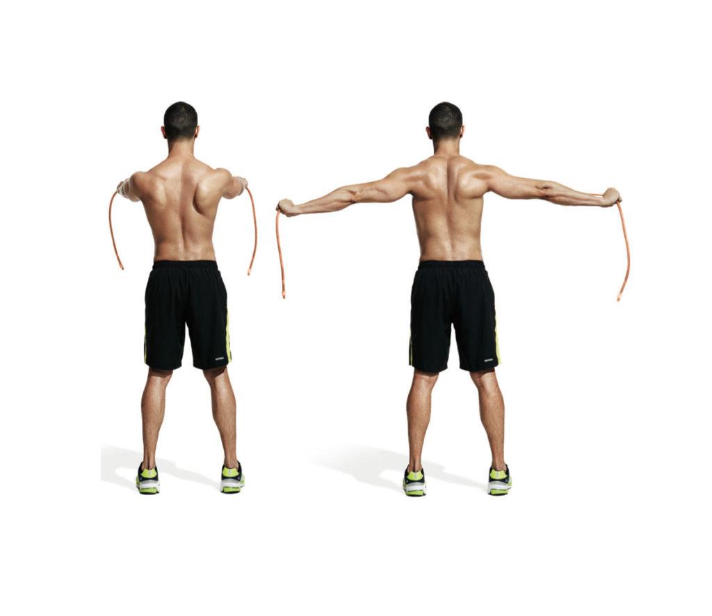 musculacion de espalda en casa