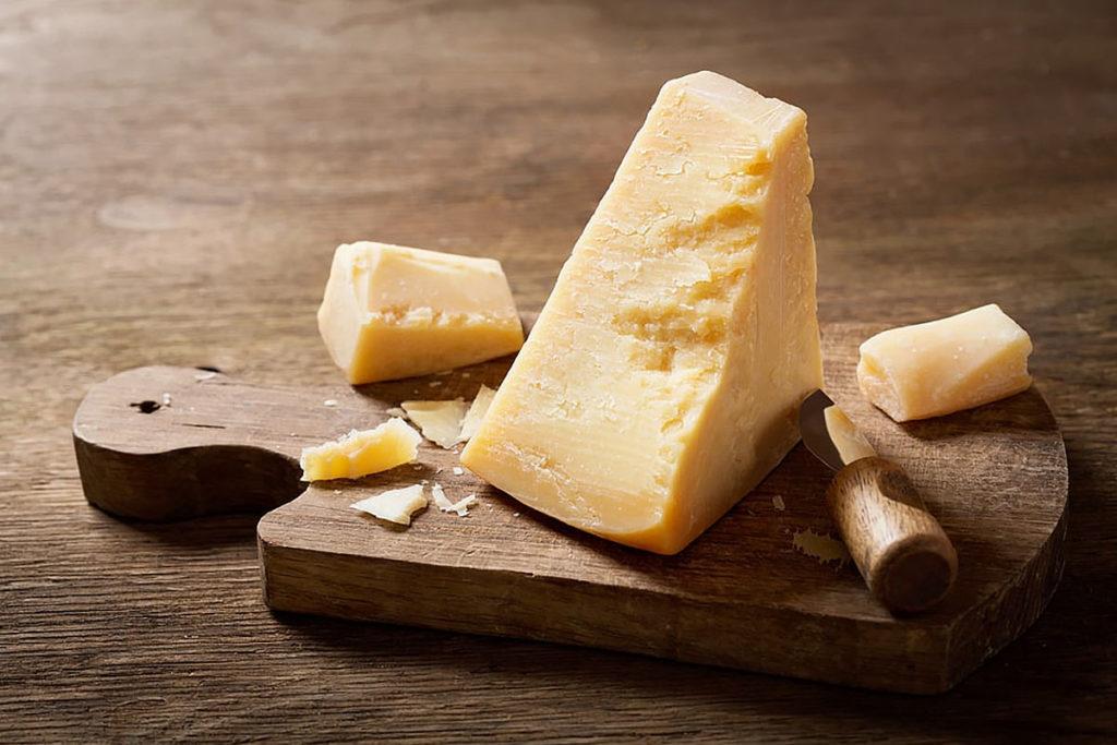 cantidad de zinc en los quesos
