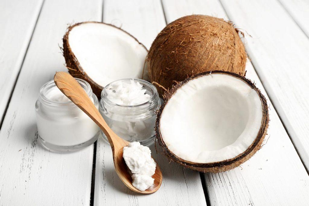 acido laurico y aceite de coco sirve