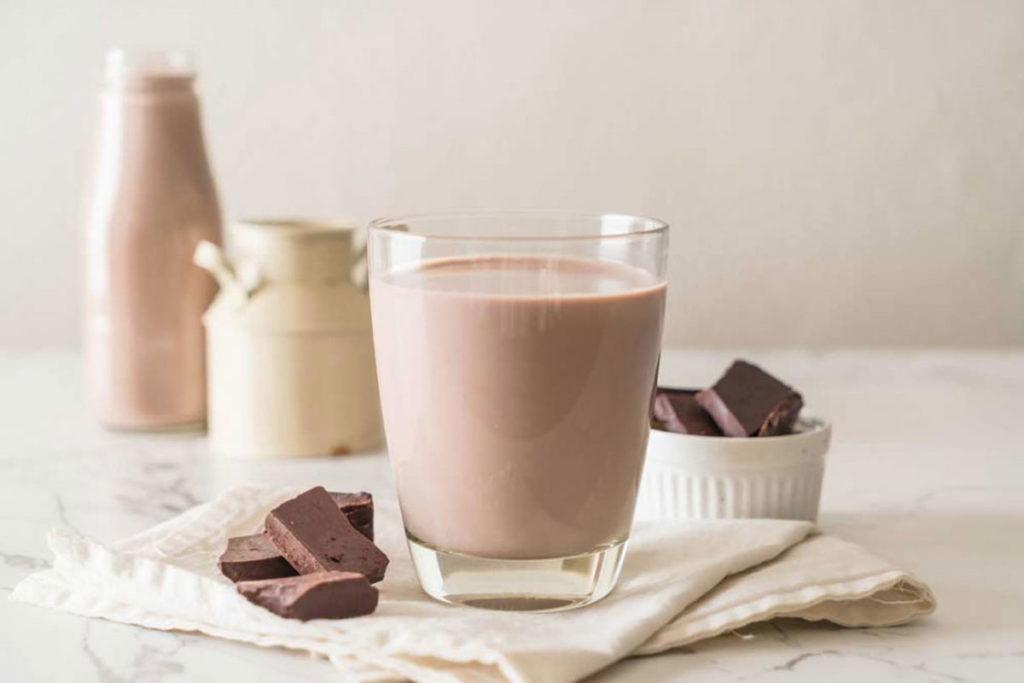 la leche con chocolate es mala para diabeticos
