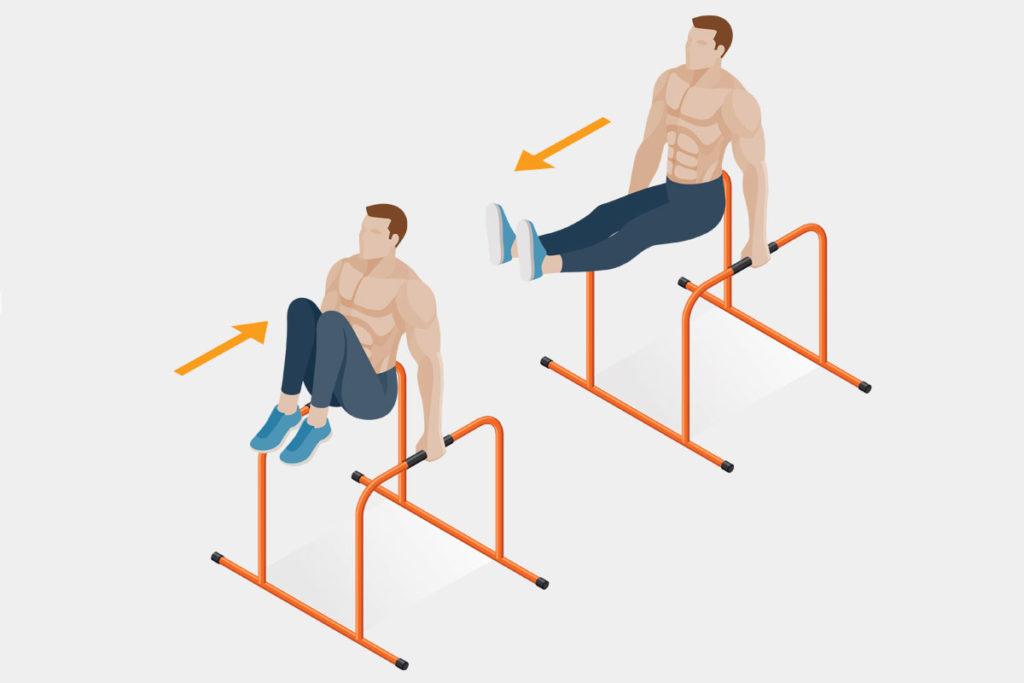 que ejercicios sirven para muscular la espalda al aire libre