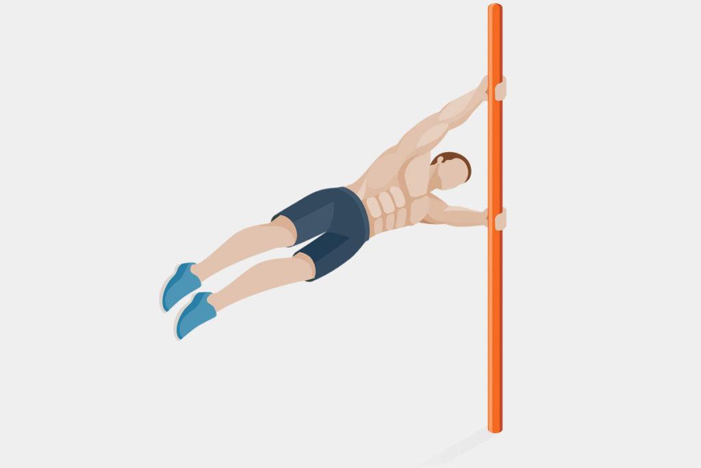 como entrenar al aire libre con barras