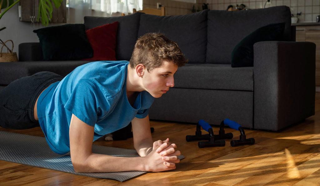 mejores ejercicios para adolescentes entre 14 y 19 años