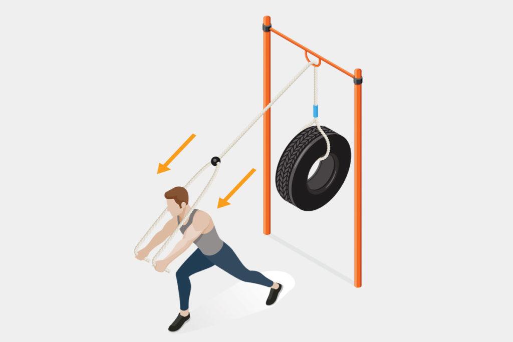 ejercicios outdoor para los musculos de arriba