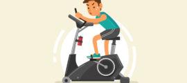 Cómo usar la bicicleta estática para perder peso en casa