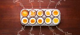 ¿Cómo hervir huevos correctamente? – Tiempos y trucos