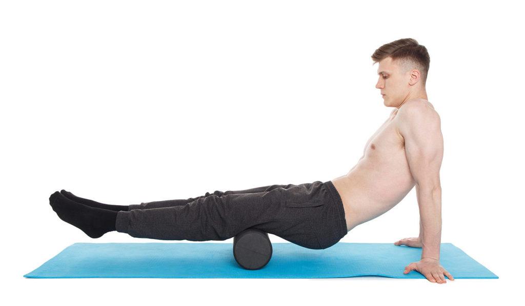 rutina de ejercicios con foam roller