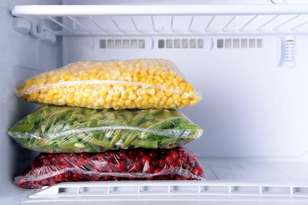 verduras congeladas nutrientes
